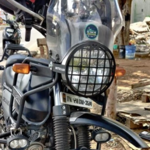 motorbike headlight grill