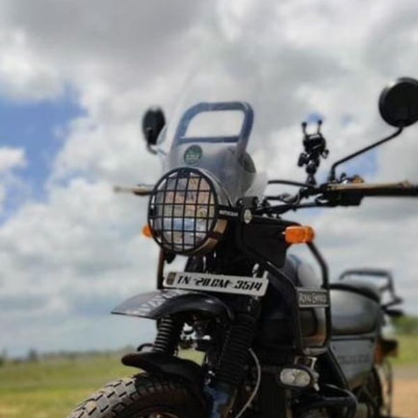 headlight grill for royal enfield himalayan