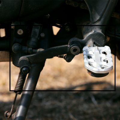anti slip foot rest for royal enfield himalayan